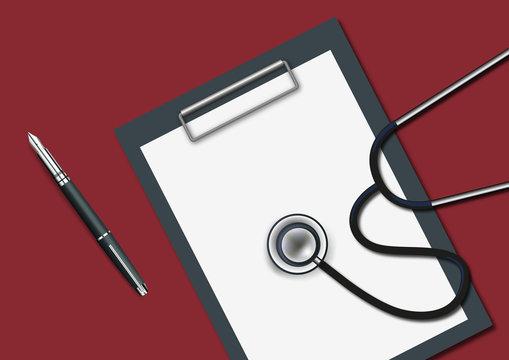 bloc-note - page blanche - présentation - réunion -fond - audit - entreprise