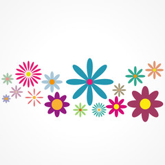 fond abstrait,fleur colorée