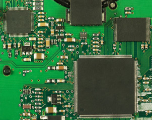 image of microcircuit closeup