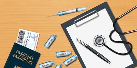 vaccin - voyage - vaccination - pays - étranger - santé - maladie - Afrique