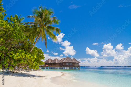 perfect beach view summer holiday and vacation design