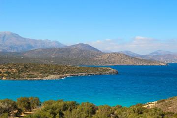 Kreta, Mittelmeer, Panorama, Bucht, Küste