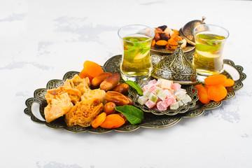 Ramadan Kareem holiday table