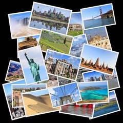 Landmarks collage