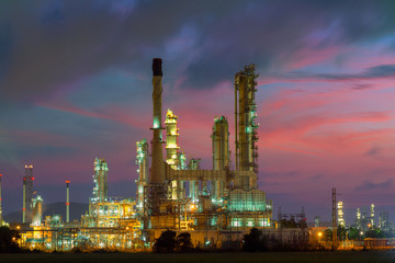 Oil refinery industry