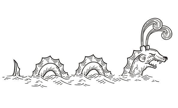 Sea Serpent vector
