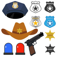 Policeman's accessories
