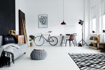 Fototapeta Spacious studio apartment obraz