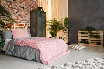 Feminine bedroom space