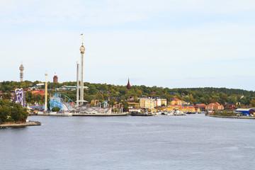 Park in Stockholm, Sweden, Scandinavia