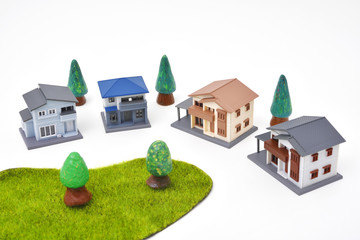 Miniature townscape - Miniature houses