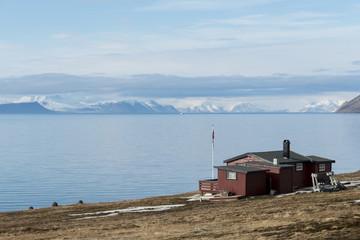 Longyearbyen, Spitzberg, Svalbard, Norvège
