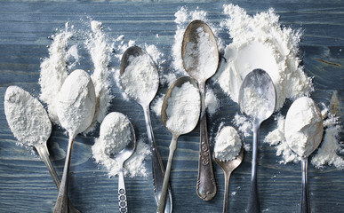 Spoonfuls of White Flour