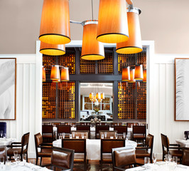 Upscale Restaurant at a Luxury Resort