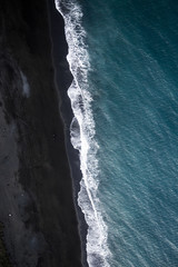 Sea and sand from the air