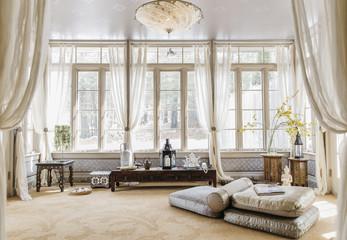 Yoga Studio in Elegant Home