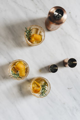 Honey Bourbon Cocktails
