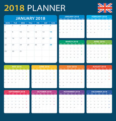 Planner 2018 - English Version
