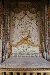 An Ornate bed for a queen