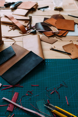 Too for handmade bag in leather Studio