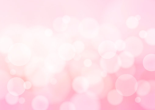 Abstract Pink Background, Vector Graphics