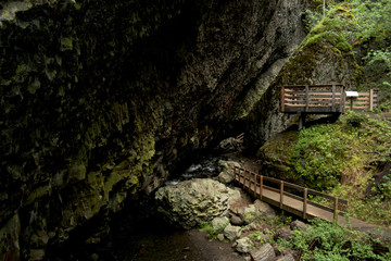 Cave Viewing areas