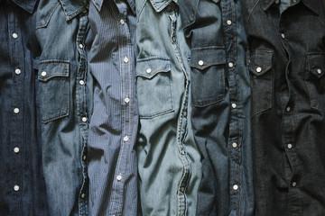 blue jeans shirts