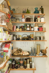 Pantry in Residential Kitchen