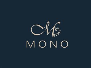 Abstract M Letter Monogram Elegant  Logo