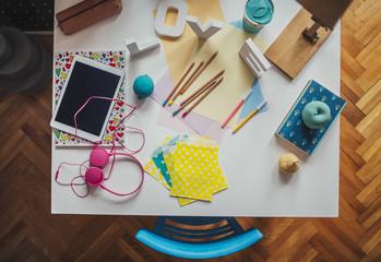 Schoolgirl's Desk