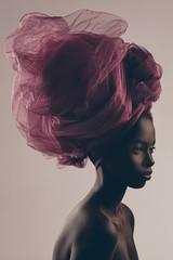 Beautiful Black Woman With a Turban