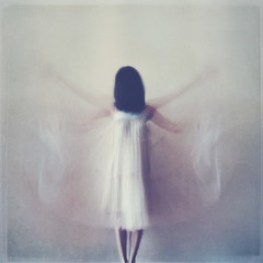 Conceptual and artistic impression of Angelic woman