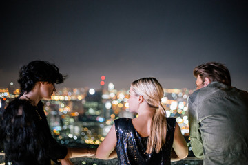 Amazing view over the city - Good friends
