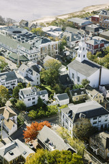Aerial View Provincetown, Massachusetts