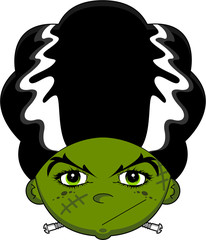 Cartoon Frankensteins Monster