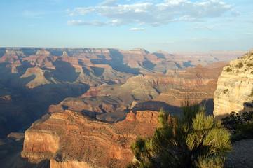 Grand Canyon National Park sunny day landscape view,Arizona,USA