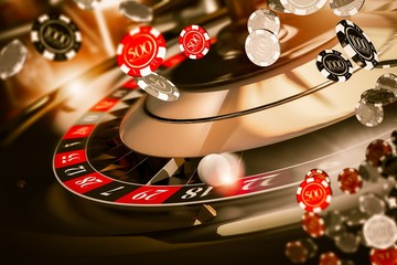 Roulette Spin Chips Blow