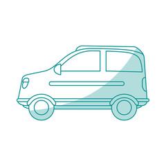 car shadow illustration vector design graphic icon