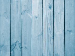 A wooden background. A blue wood texture. Board background. Natural wood background.