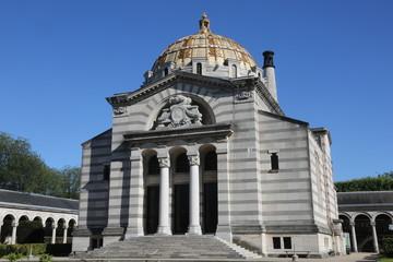 Le crématorium du Père Lachaise, dû à l'architecte Jean Camille Formigé