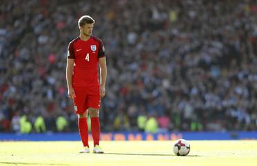 England's Eric Dier prepares to take a free kick