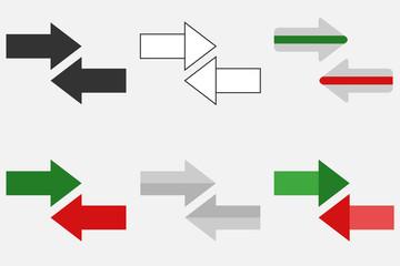 Arrow-pointers icon