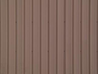 茶色い鋼板の壁