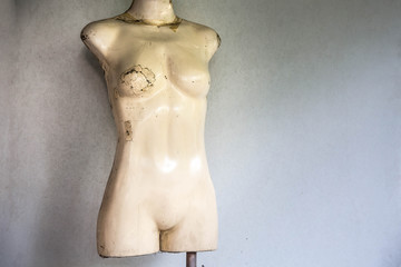 Old mannequin