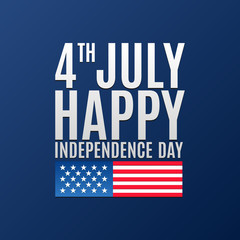 Happy independence day greeting logo banner 4 july american see more m4hsunfo