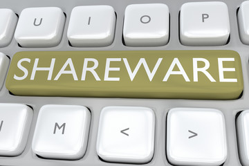 Shareware - proprietary concept