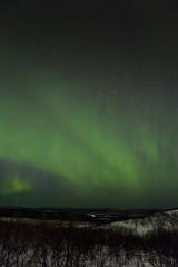 Polarlicht über Nordschweden