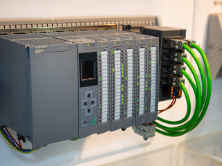 high technology Industrial Machine control by PLC programing logical control for manufacturing