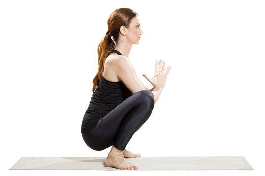 Yoga Garland Pose - Malasana