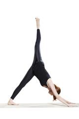 Yoga Down Dog Split - Eka Pada Adho Mukha Svanasana